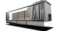 Сдвижные шторы для грузовиков