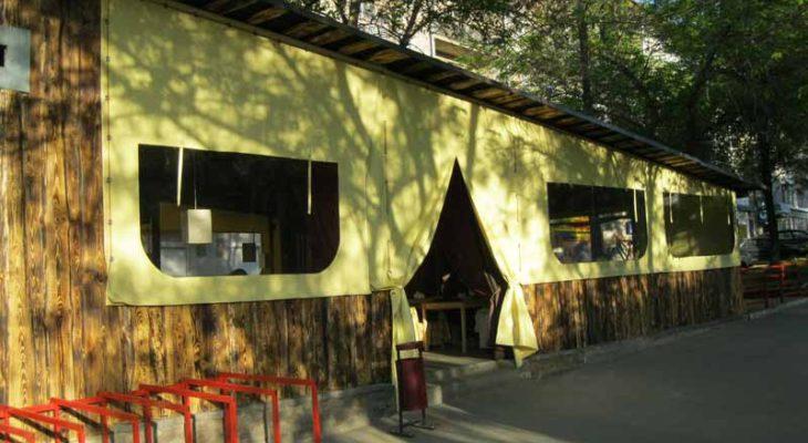 ПВХ шатер для дачи и кафе